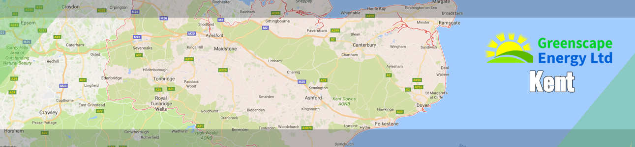Air source heat pump and solar PV installers in Kent