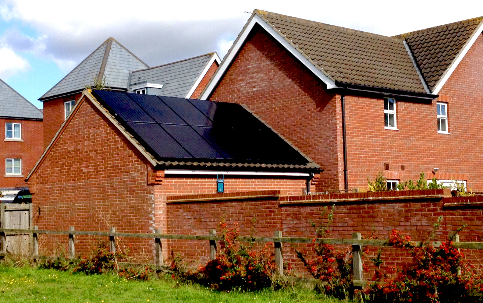 Solar installation by Greenscape Energy in Kesgrave, near Ipswich