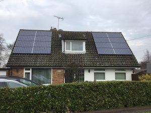 peters Solar installation