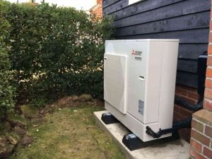 Greenscape Air Source Heat Pump Install